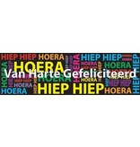 Hipp Hipp Hurra Banner Geburtstag