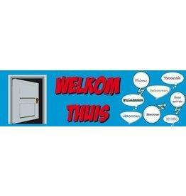 Banderola Bienvenida a casa