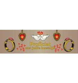 Banderola casarse