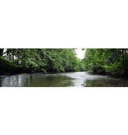 Banderole de jardin de la rivière