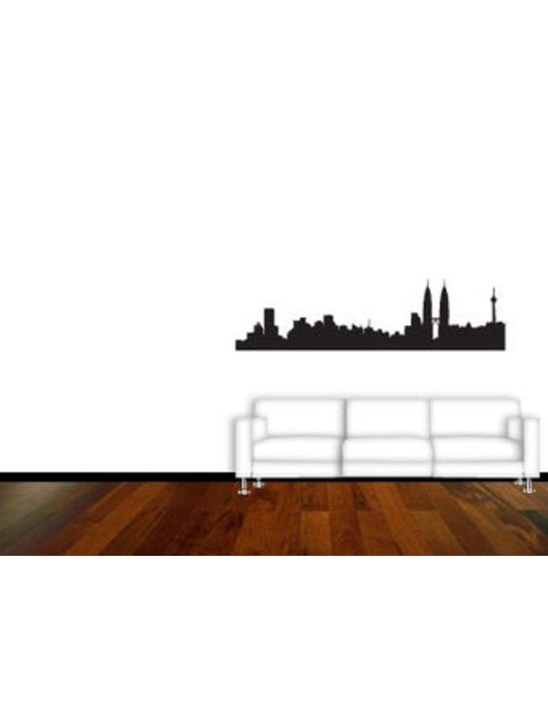 Skyline Interieur Sticker