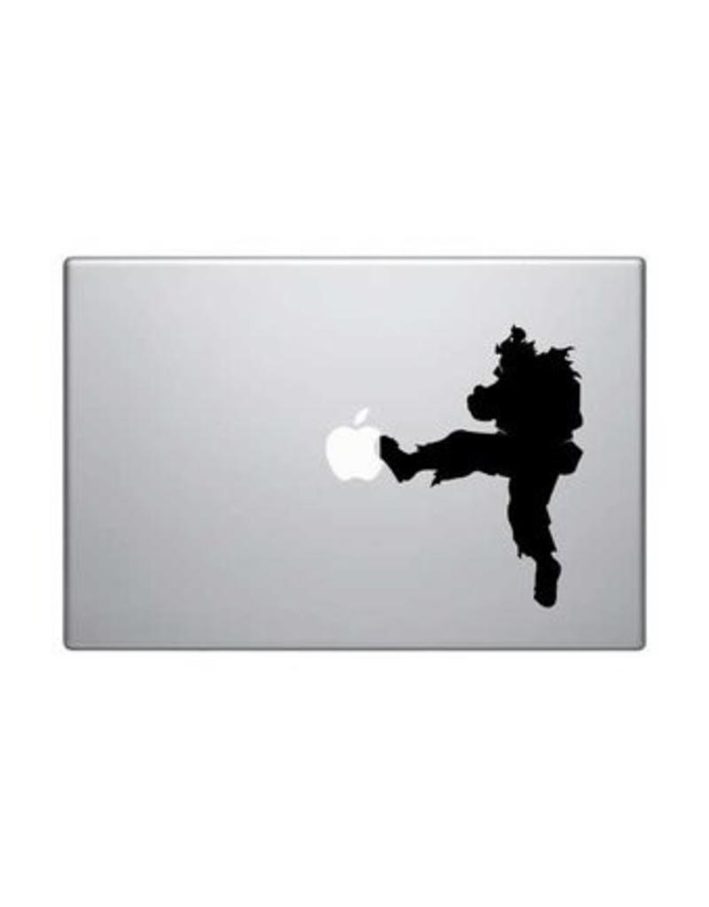 Streetfighter Mac Sticker