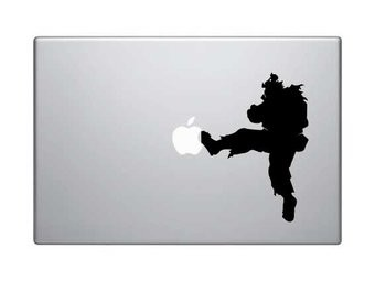 Streetfighter Mac Sticker