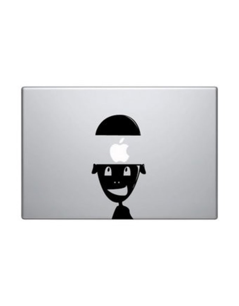 Brain mac skin sticker