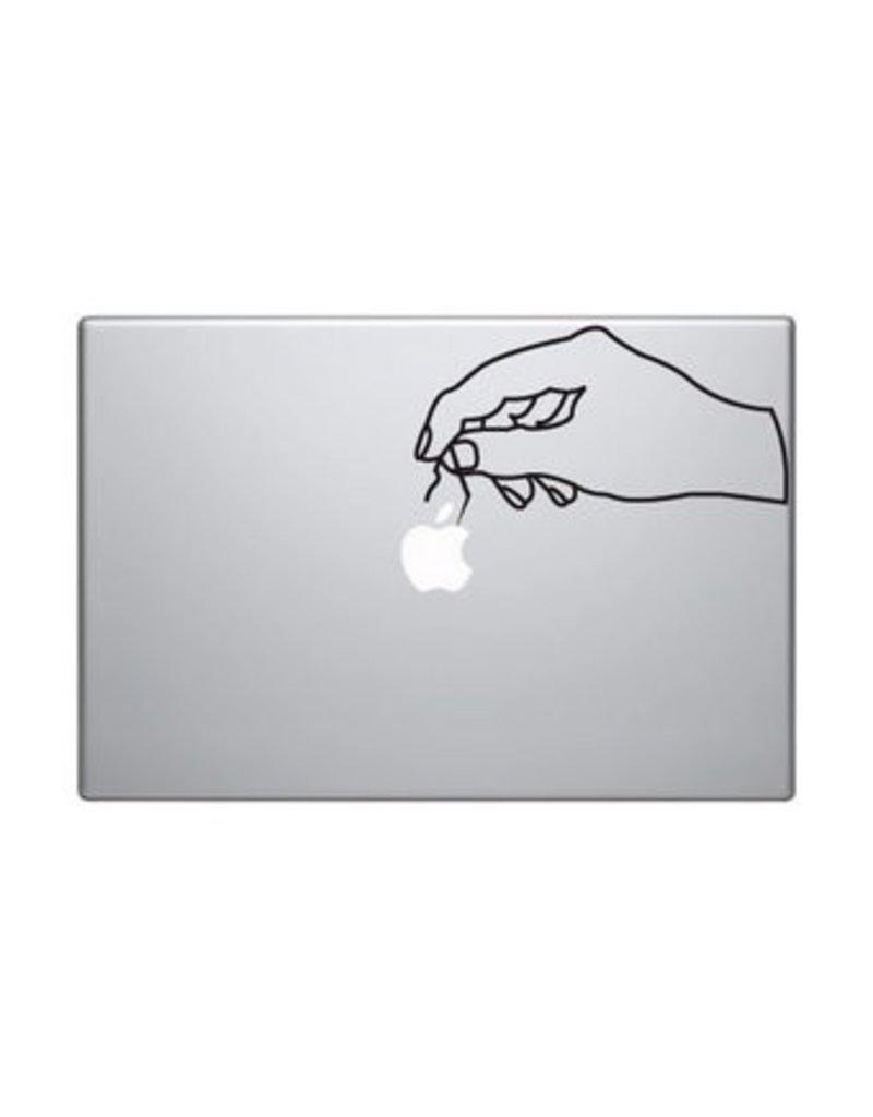 Hand 2 mac skin sticker