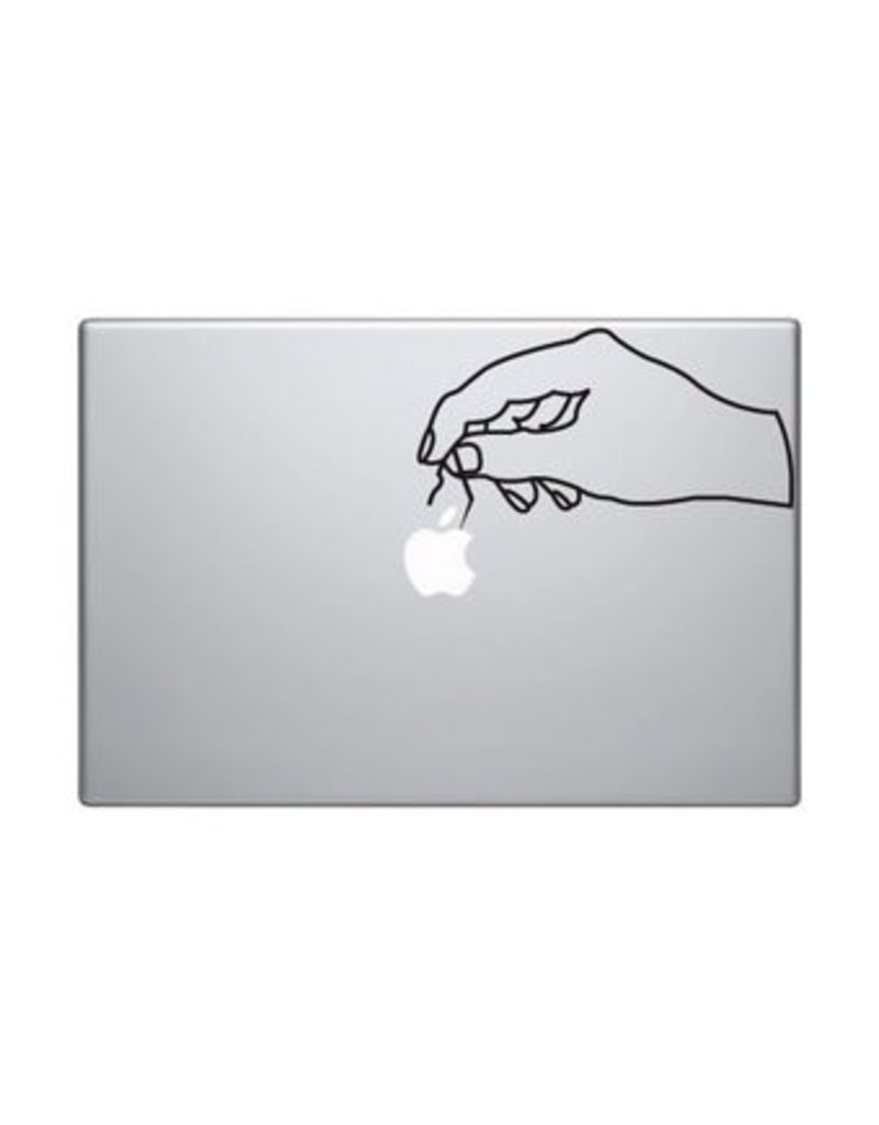 Pegatina Mac mano