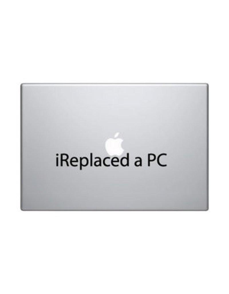 """Pegatina Mac """"I replaced a PC"""""""