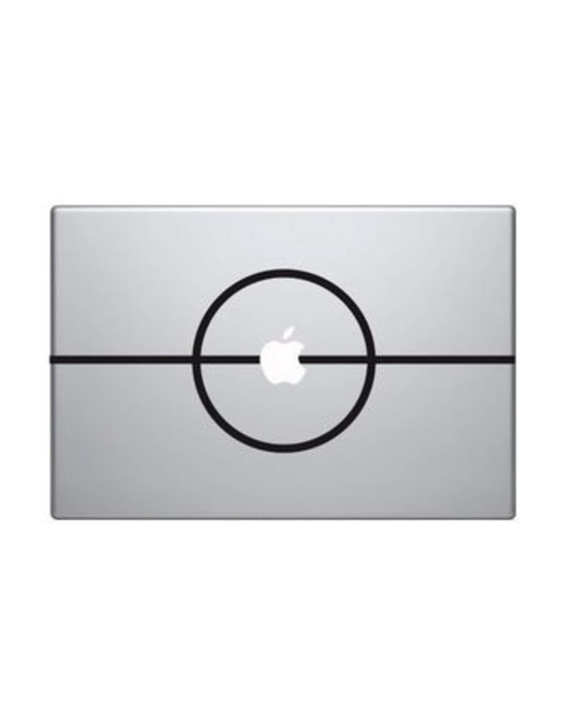 Pegatina Mac Punto central fútbol