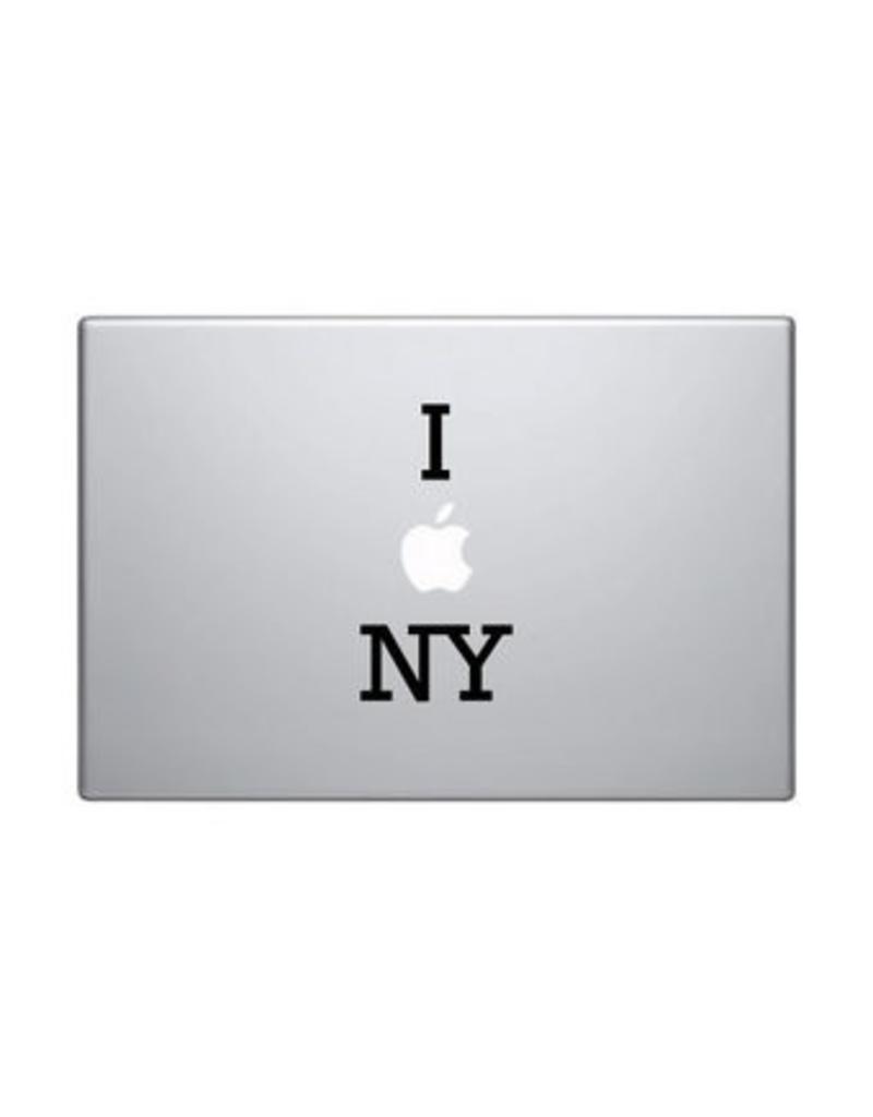 I love NY mac Sticker