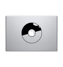 Pokeball mac Sticker
