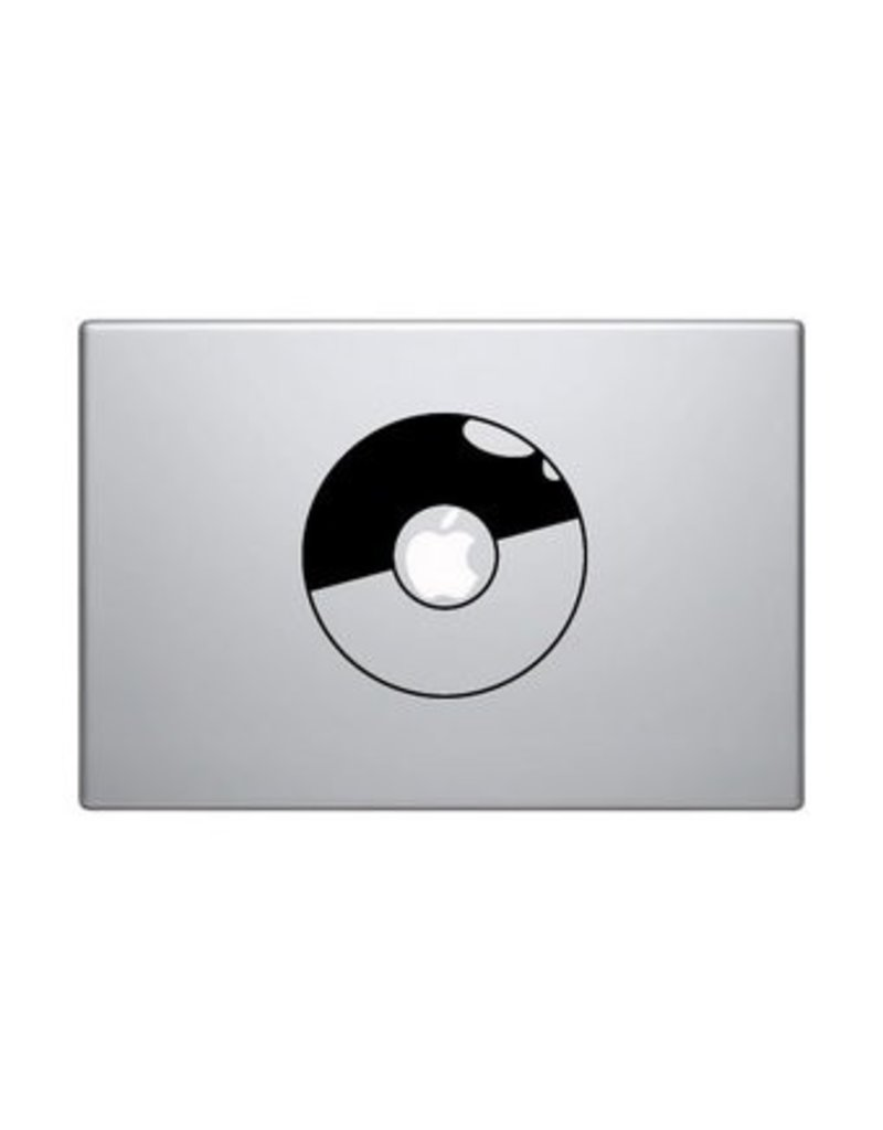 Pokeball mac Sticker