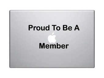 Proud to be mac Sticker