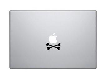 Doodshoofd mac Sticker