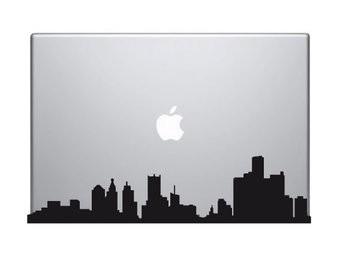 Pegatina Mac panorama urbano