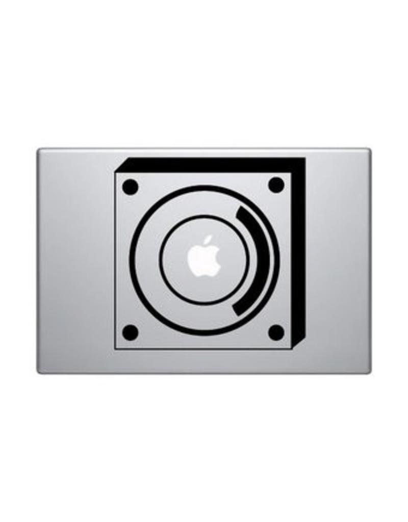 Pegatina Mac altavoz