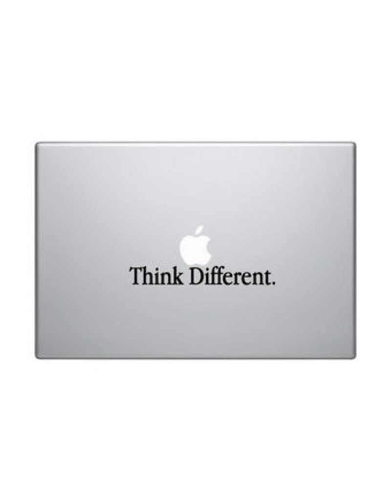 "Autocollant mac ""think different"""