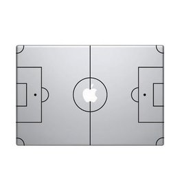 Football pitch mac Sticker