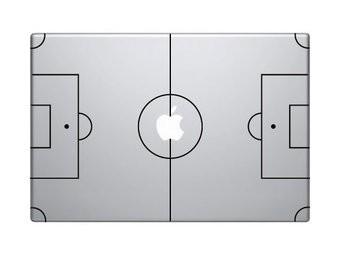 Fußballfeld Apple / Mac Sticker