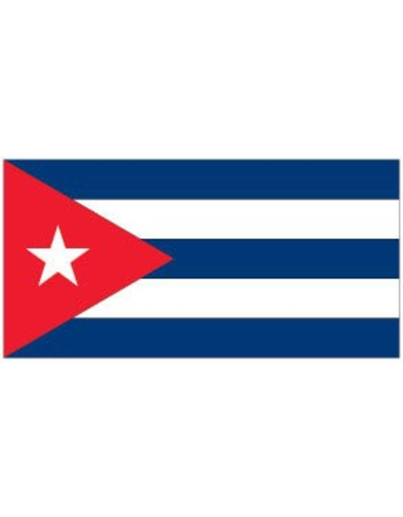 Cubaanse vlag Sticker