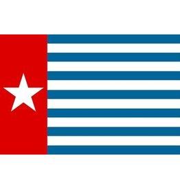 West-Papoea vlag Sticker