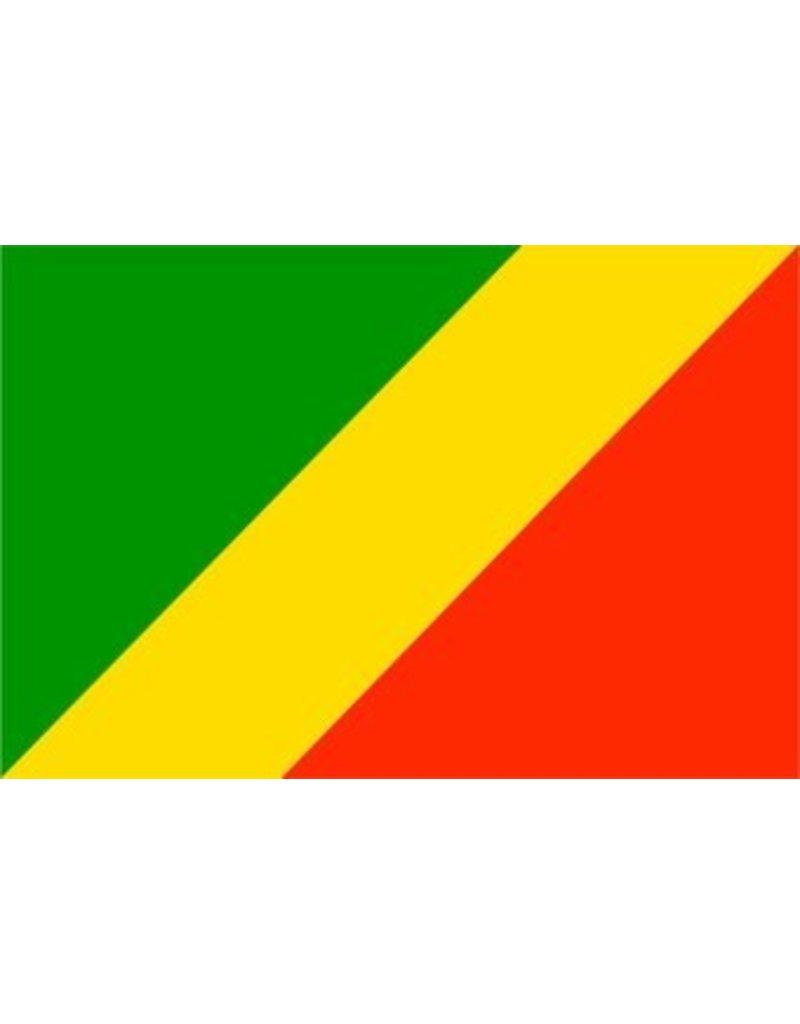Kongo-Brazzaville vlag