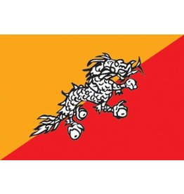 Bhutaanse vlag Sticker