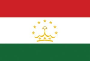 Tadzjikistaanse vlag Sticker