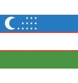 Oezbekistaanse vlag Sticker