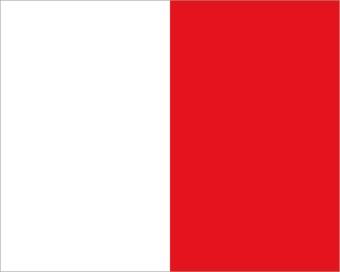 Maritime H drapeau autocollant