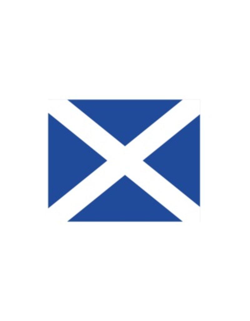 Nautische M Flagge Sticker