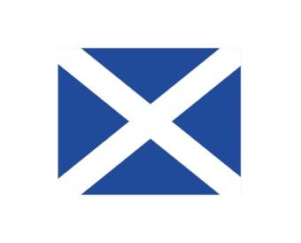 Maritime M drapeau autocollant