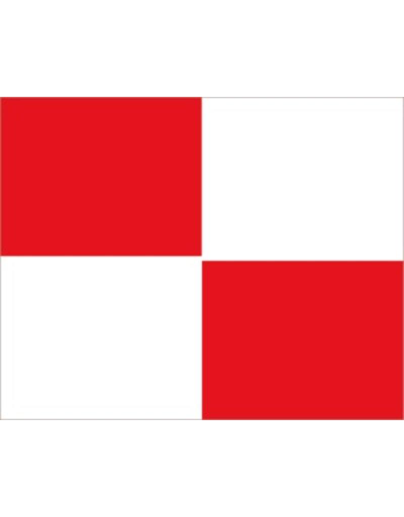Maritiem U vlag Sticker