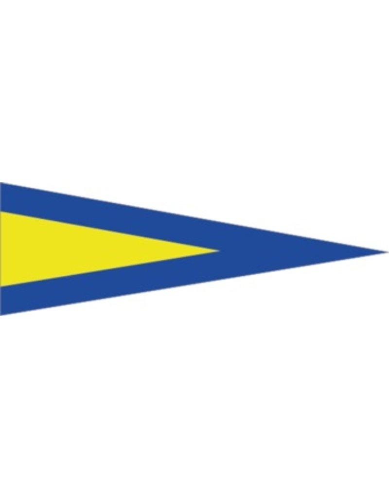 Maritiem 1de vlag Sticker