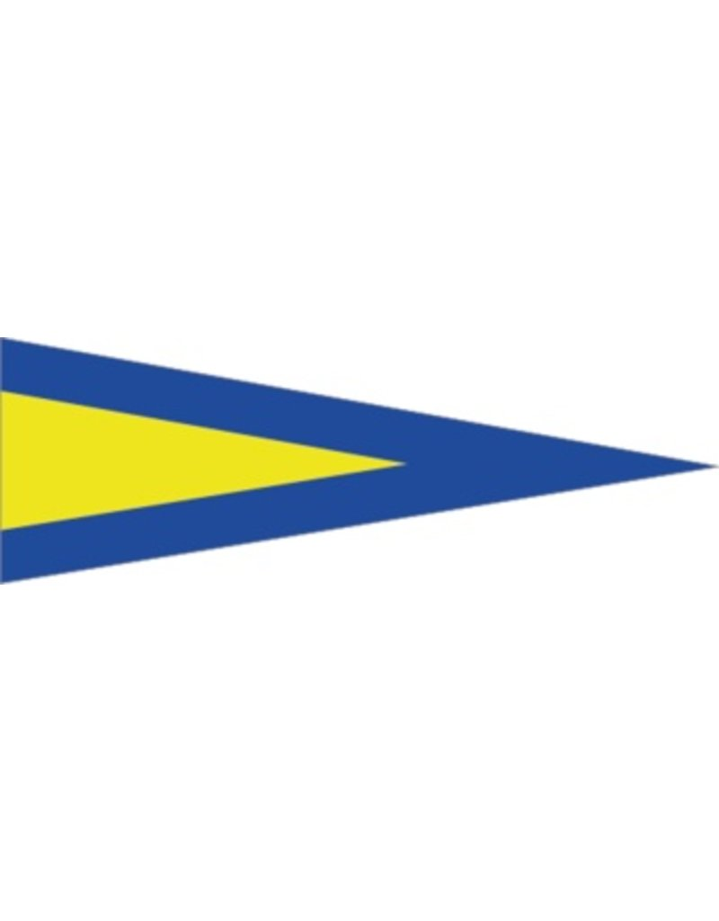 Maritime 1er drapeau autocollant