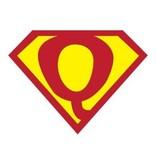 Pegatina superhéroe Q