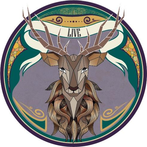 Urban Sticker - Deer