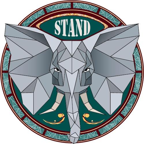 Urban Sticker - Elephant