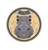 Urban Sticker - Nijlpaard
