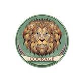 Autocollant urbain - Lion