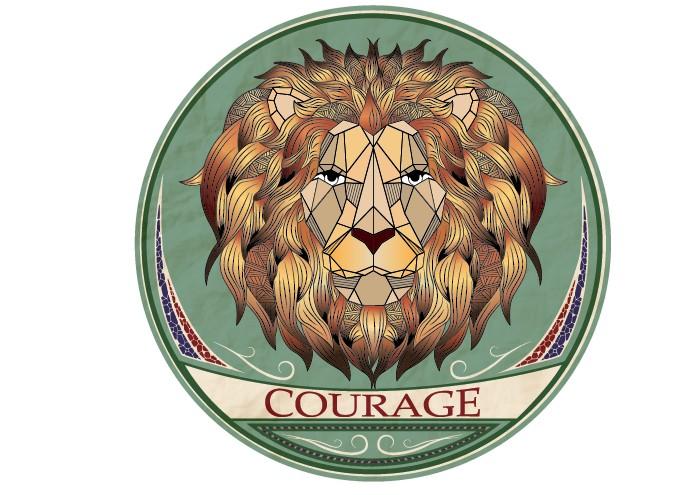 Urban Sticker - Lion