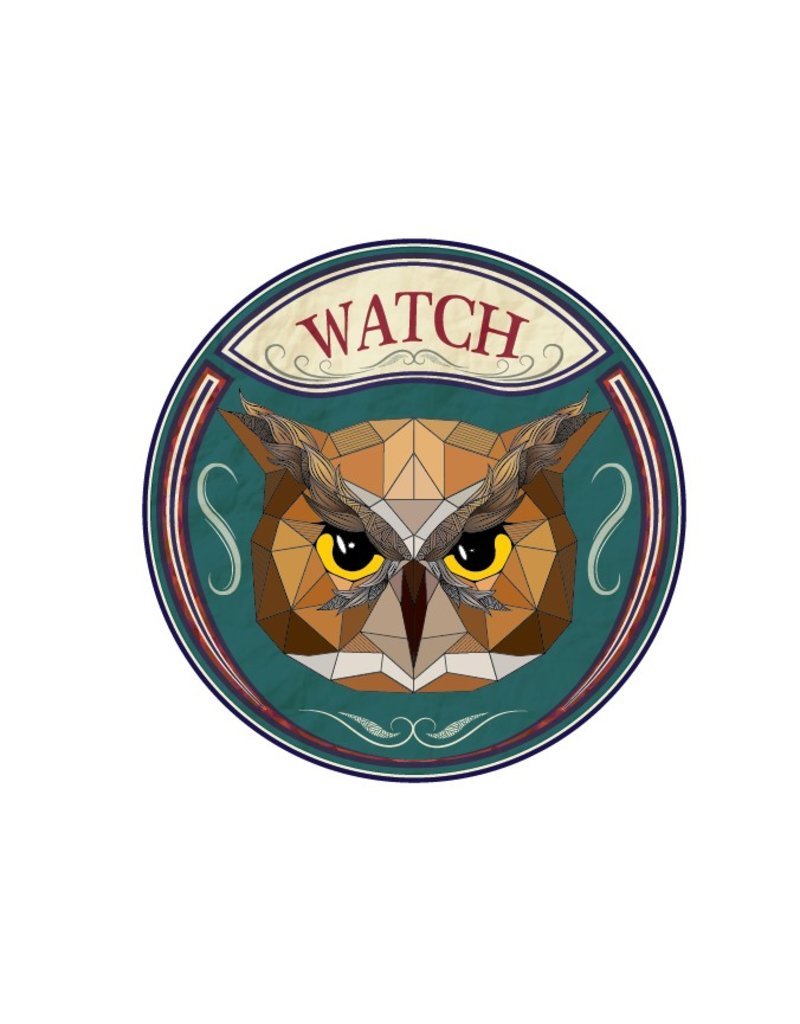 Urban Sticker - Owl