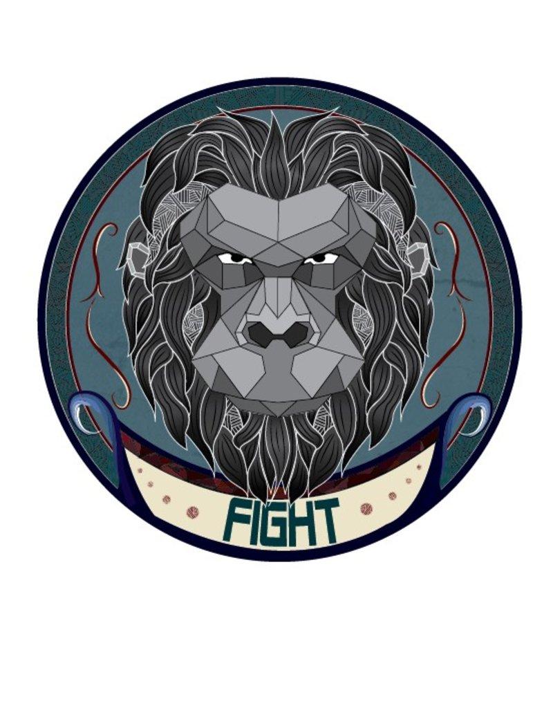 Urban Sticker - Ape