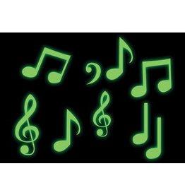Notes de musique autocollant