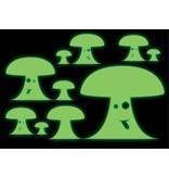 Paddestoel stickers