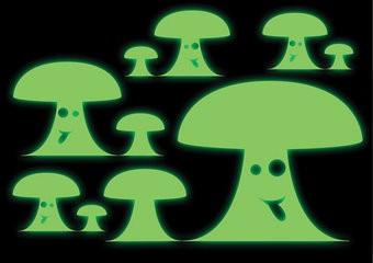 Pilz Sticker