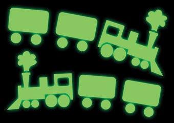 Trein stickers