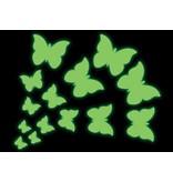 Papillons autocollants