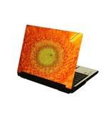 Flor ordenador portátil pegatina