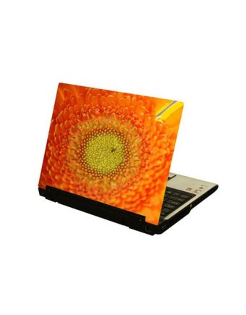 Autocollant fleur laptop