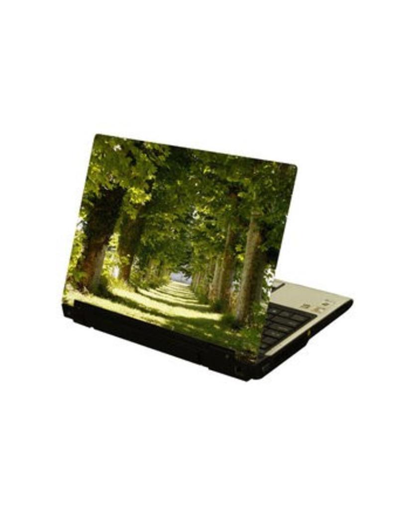 Árbol ordenador portátil pegatina